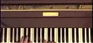 "Play ""The End"" by the Beatles on piano"