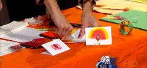 Keep your children busy during Thanksgiving by giving them craft projects