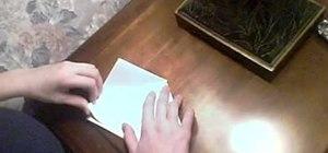 Make a paper box for fun