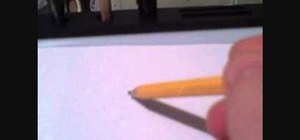 Draw a simple pencil sketch of a knife