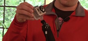 Mount your GoPro digital camera on a tripod