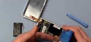 Replace a 2nd generation iPod battery