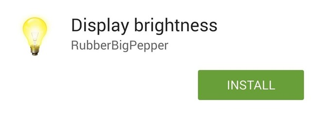 Adjust Display Brightness Right from Your Android's Status Bar (No Root Required)