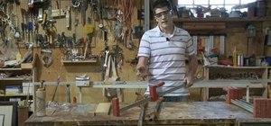 Laminate a wood panel