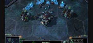 Play as the Terran race in StarCraft 2