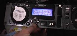 Use a CORTEX HDC-1000 DJ kit
