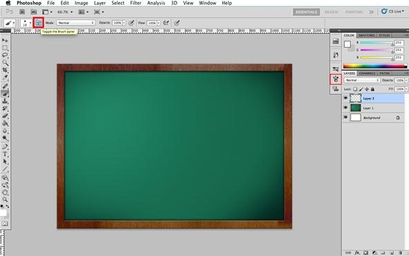 Chalk It Up to Experience: How to Make Realistic Chalk Symbols in Photoshop