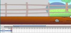 Create a scrolling background in Adobe Flash CS4