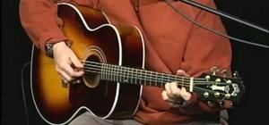 "Play Mississippi John Hurt's ""C.C. Ryder"" on guitar"