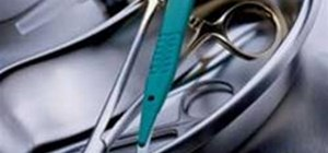 Hold and Use Surgical Forceps, Scalpels and Suturing Needles