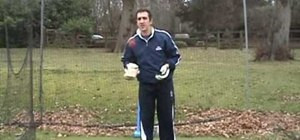 Practice cricket batting warm ups