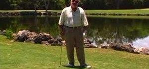 Avoid shanks in golf