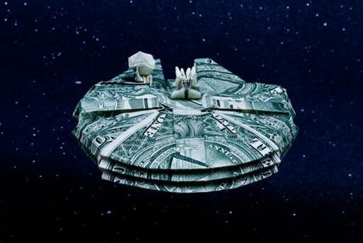 Star Wars Moneygami