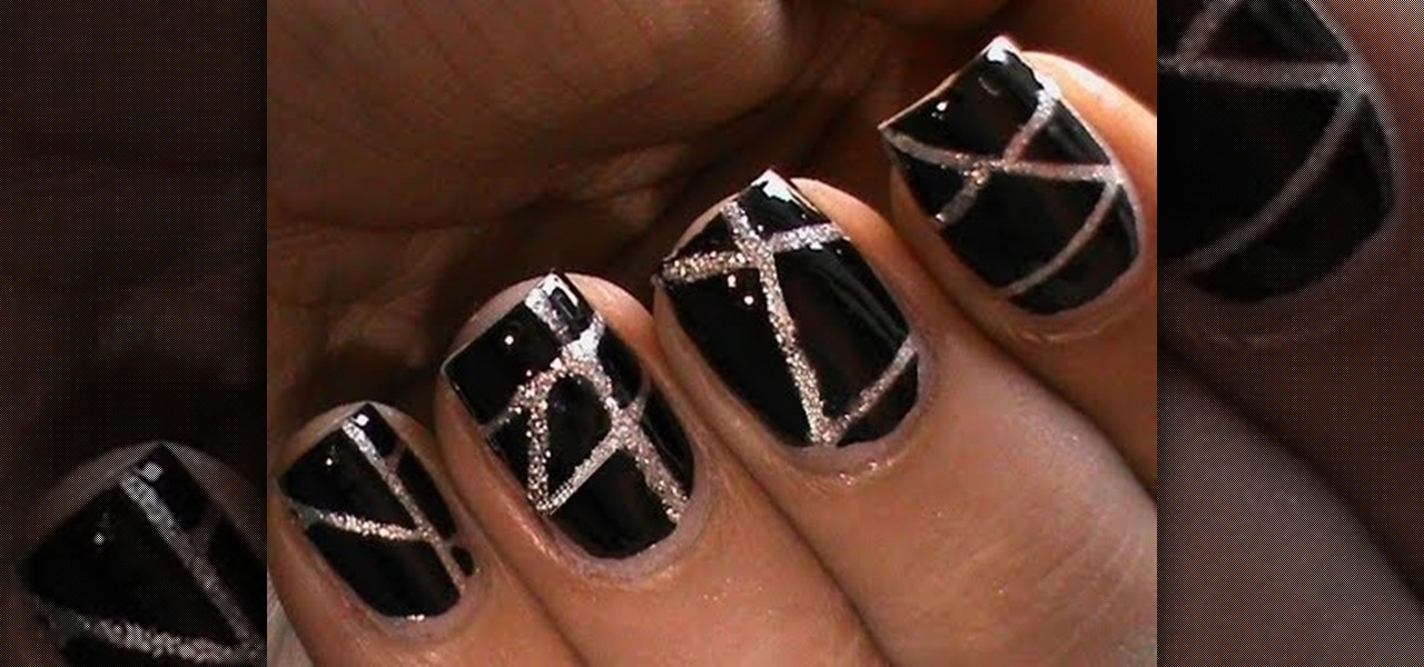 How to Striping Tape Nail Art Design?! « Nails & Manicure :: WonderHowTo