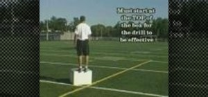 Practice plyo box jumps (Death jumps)