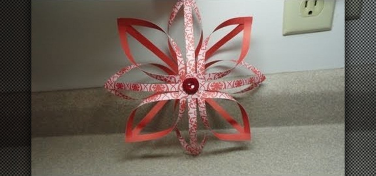 how to craft a 3d finnish star christmas paper ornament christmas ideas wonderhowto