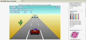 Hack Crazy Cabbie for easy points (12/04/09)