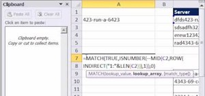 Extract all the letters from a text string in Microsoft Excel 2010