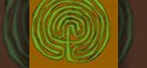 Make a garden maze