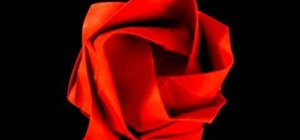 Fold a very detailed origami rose from Prison Break