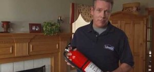 Choose and use a fire extinguisher with Lowe's
