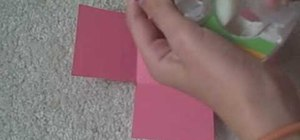 Make a paper box step-by-step