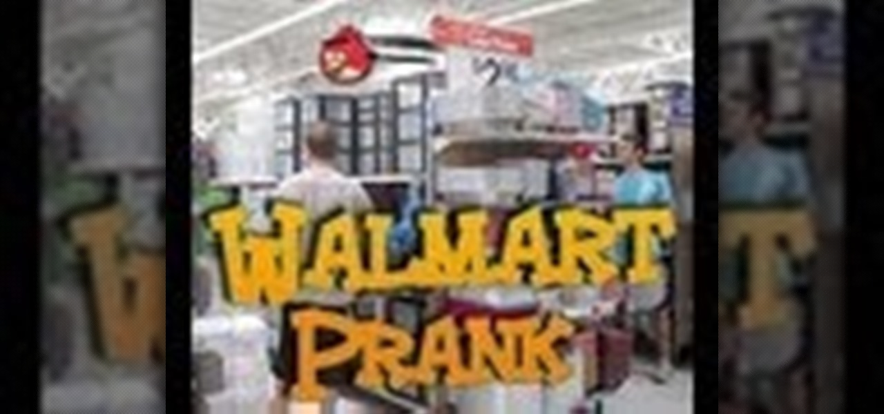 Funny Walmart Prank [Angry Birds in Real Life Prank]