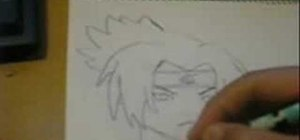 Draw Sasuke from Naruto