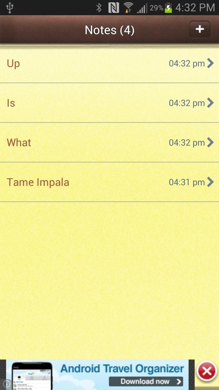 How to Take iOS-Style Notes on Your Samsung Galaxy Note 2