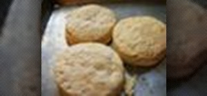 Bake homemade southern biscuits