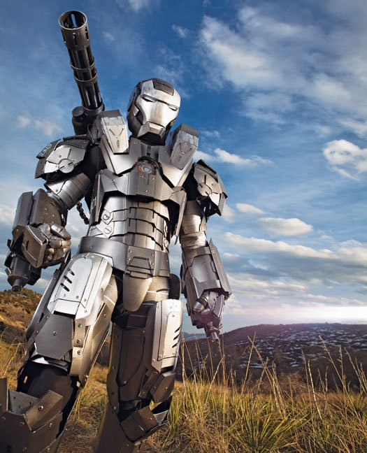 OCD Iron Man Nut Builds SPECTACULAR Suit Replica