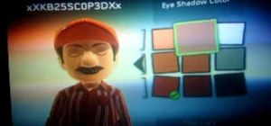 Make a Mario avatar on Xbox 360
