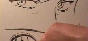 Draw Anime Eyes Female