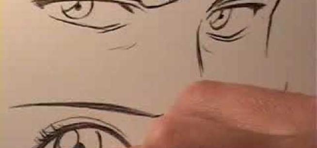 How To Draw Male And Female Manga Eyes Drawing Illustration Wonderhowto