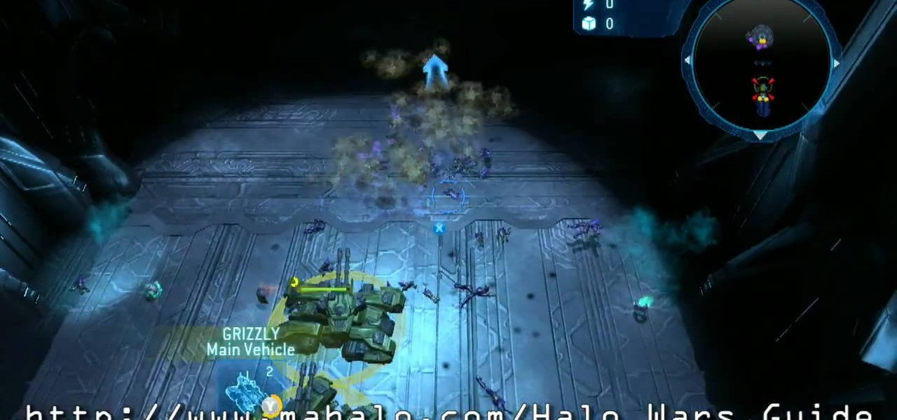 How to Walkthrough Halo Wars - Mission 3: Relic Interior