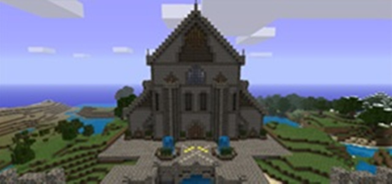 Minecraft World's Weekly Server Challenge: Buildings