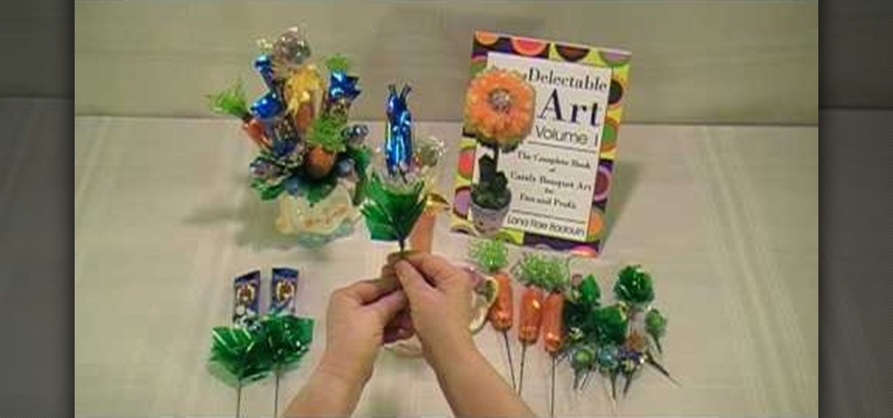 How to Make zoo animal candy bouquet « Kids Parties :: WonderHowTo
