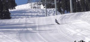 Carve in snowboarding