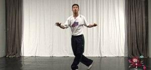 Do the pas de bouree Jazz/Funk dance move