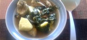 Cook Chicken Tinola