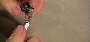 Make a beautiful pendant with a head pin