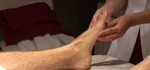 Massage the feet