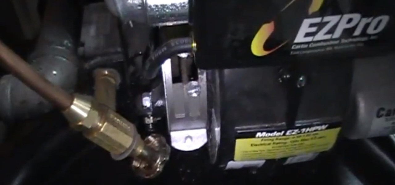 How To Bleed Air Out Of The Oil Line On A Boiler Burner