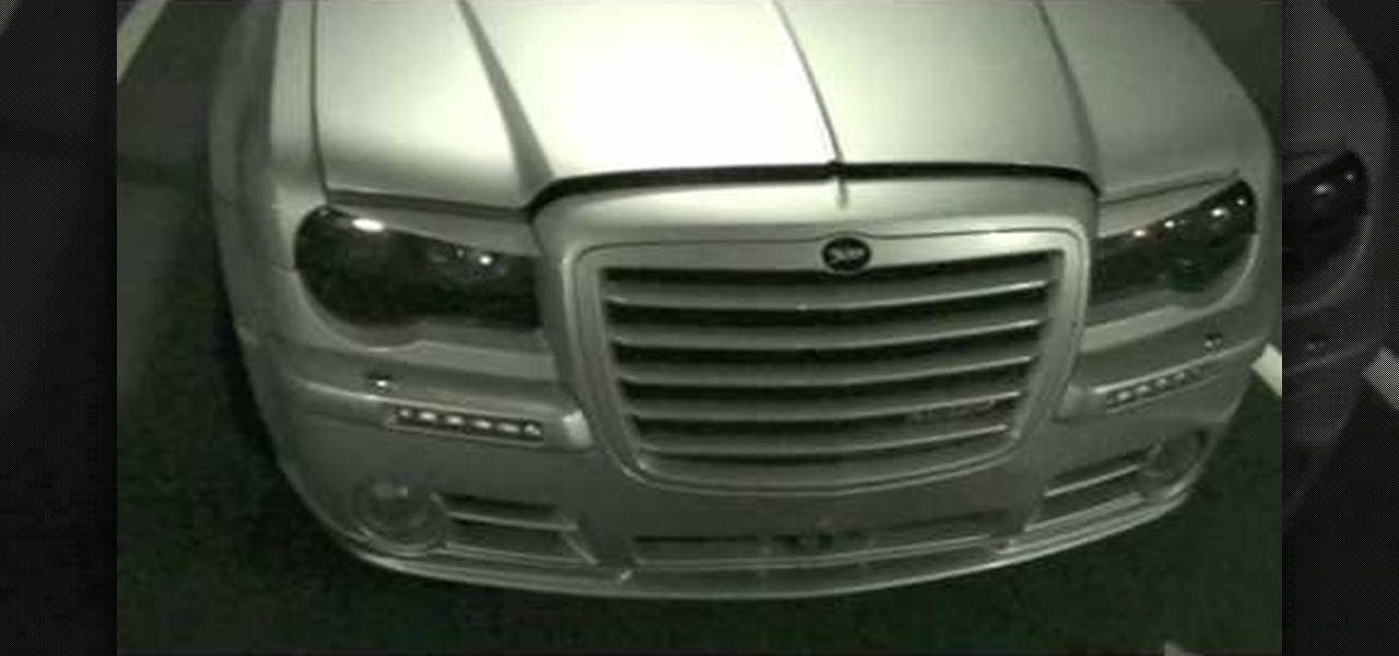 How To Change The Fog Lights On A Chrysler 300c Auto Maintenance Repairs Wonderhowto