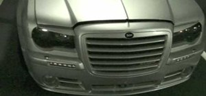 Change the fog lights on a Chrysler 300C