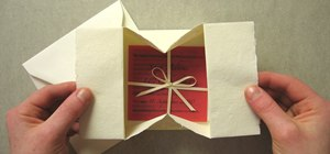 Origami a collapsible gift box