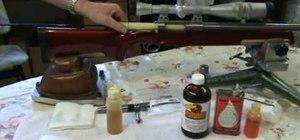 Clean the rifle bore