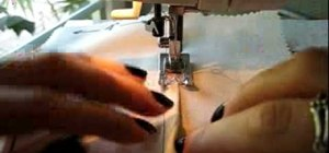Sew a flat-felled seam