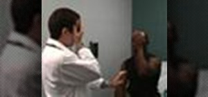 Perform a general eye exam on a patient