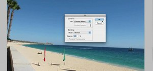 Use Adobe Photoshop CS5's Content-Aware Fill tool